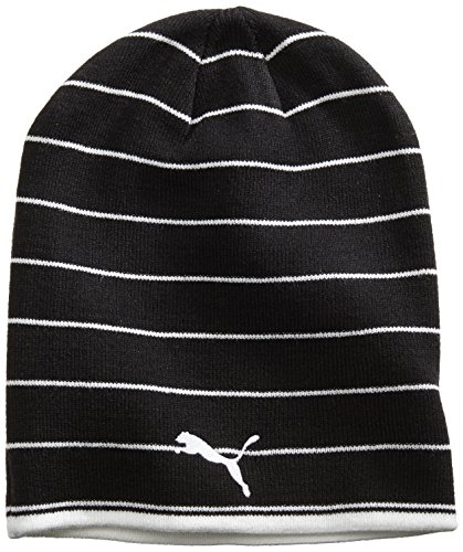 PUMA Mütze Beanie, black/white, OSFA, 021002 03