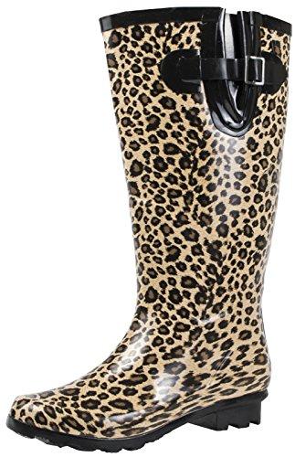 Lora Dora Ladies Wide Calf Knee Length Wellington Rain Snow Boots Wellies Shoes Size UK 3 - 8