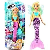 042606e8be Winx Club - Fairy Mermaid Bambola Stella con Cambio di Colore 28cm