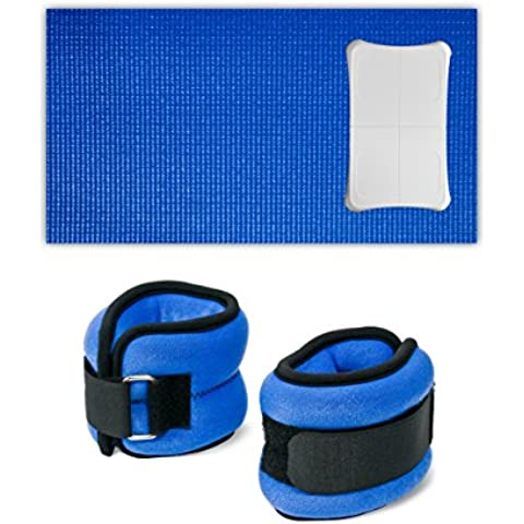CTA Digital Balance Board Mat and Wrist/Ankle Weights (Wii) [Edizione: Regno Unito]