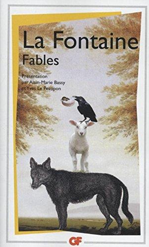 Litterature et civilisation - fables (Gf litterature) por Jean de La Fontaine