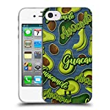 Head Case Designs Lilien Und Creme Alles Ueber Avocados Soft Gel Hülle für iPhone 4 / iPhone 4S