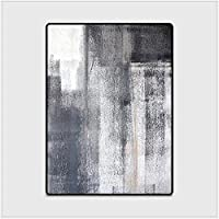 Yangshan Simple Modern Abstract Chinese Ink Black Gray Carpet Bedroom Kitchen Door Mat Living Room Floor Mat Carpet Rug Bedroom (Color : 01, Size : 150cmX200cm)