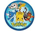 Amscan 551859Teller 23cm rd Pokemon Core