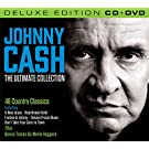 Johnny Cash The Ultimate Collection (Deluxe Edition CD/DVD) with Bonus material Featuring Merle Haggard (All Region DVD / NTSC Region 0)