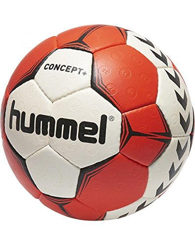 Hummel Erwachsene Concept Plus Handball, White/Red/Black, 2