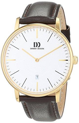 Danish Design Men's Analogue Quartz Watch with Leather Strap IQ15Q1175