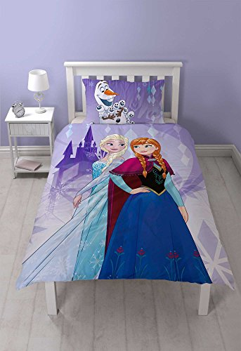 Disney Frozen–Juego de funda reversible dos diseño poliéster f