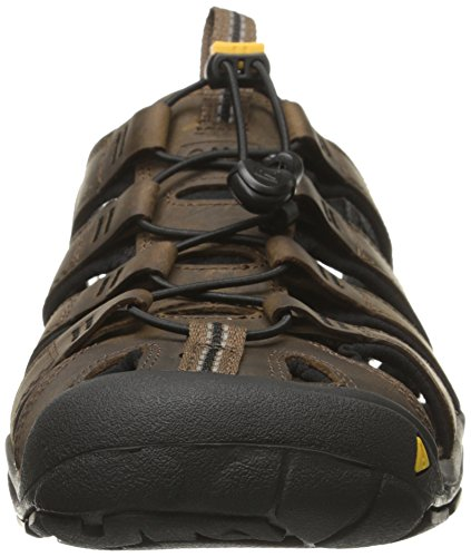 Keen Clearwater CNX Leather Sandal De Marche - SS16 brown