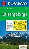 Kaisergebirge: Wander-, Rad- und Skitourenkarte. Mit Panorama. GPS-genau. 1:50.000