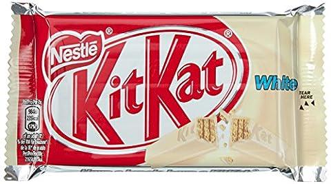 Nestle KitKat White Schoko-Riegel, Weiße Schokolade, Großpackung 24 x 41,5g