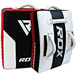 RDX Boxing MMA Strike Shield Kick Pad Boxpads Punch Mitts Focus Pads Boxing Pads Kick Boxing (The Package Includes Stud Earring