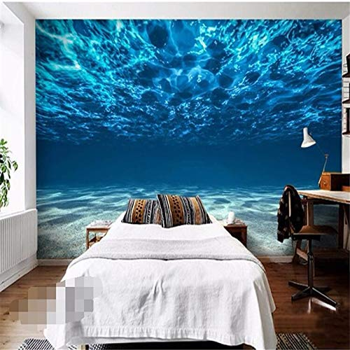 Tiefsee Malerei Fototapete Ozean Landschaft Großes Wandbild Schlafzimmer Kinderzimmer Hintergrundbild Für Wand Wohnkultur (W)250X(H)175Cm