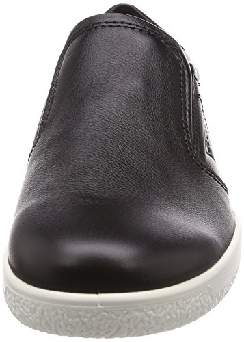Ecco Mens Soft 1 Sneaker Black (nero)
