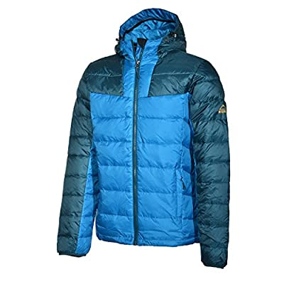 McKinley Jaru Herren Daunenjacke Highloft Daunen Blue Petrol Jacke von McKINLEY bei Outdoor Shop