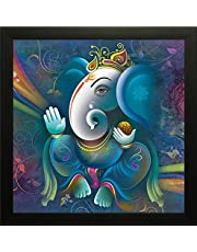 SAF 'Ganesh Religious' Framed Painting