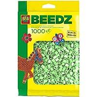 SES Creative - Cuentas para planchar, color verde claro (00713)