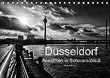 Düsseldorf Ansichten in Schwarz-Weiß (Tischkalender 2019 DIN A5 quer): Düsseldorf - Faszination in Schwarz-Weiß (Monatskalender, 14 Seiten ) (CALVENDO Orte) - Klaus Hoffmann