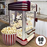 Retro Machine à Pop Corn | 60L/h, 200g/10min,...