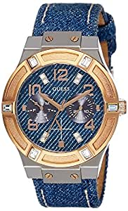 Guess Analog Blue Dial Women's Watch - W0289L1