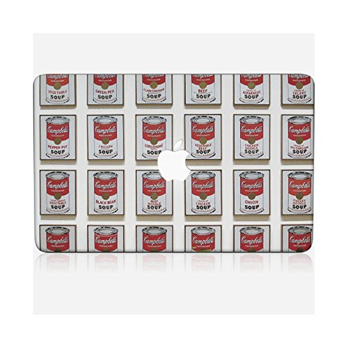 iPhone 6 Case, Cover, Guscio Protettivo - Original Design : Campbells Soup Can da Andy Warhol MacBook Air 13 skin