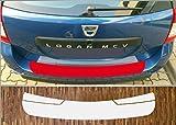 passgenau für Dacia Logan 2 MCV, ab 2013 Lackschutzfolie Ladekantenschutz transparent