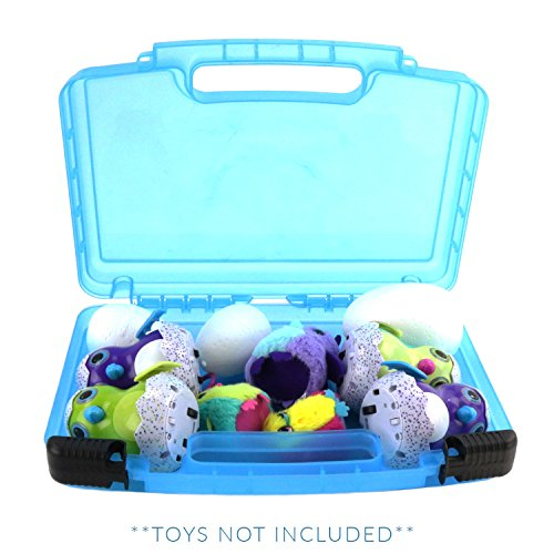 Life Made Better My Egg Box Storage Organizer - Compatible with Hatchimals and Hatchimal Surprise Glowing Blue Garden Marks