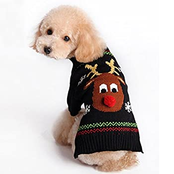 yosoo Pet Dog Pull-over chaud tricot Pull Veste tricots Vêtements Puppy Chat tricots Costume Manteau Apparel