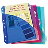 Best Index Dividers - C-Line Mini Size 5-Tab Poly Index Dividers Review