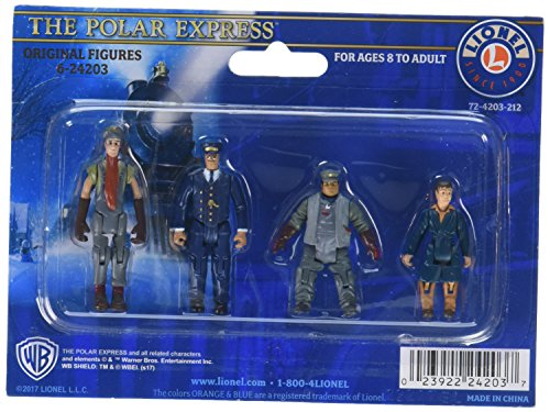 O Polar Express Figures #1 (4), used for sale  Delivered anywhere in UK