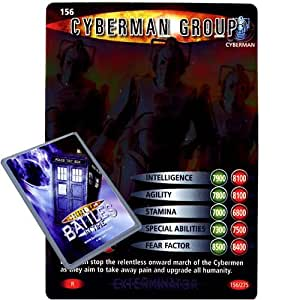 Doctor Who - Single Card : Exterminator 156 Cyberman Group Dr Who Battles in Time Rare Card