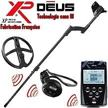 XP Metal Detectors Detector de metales Deus Full 3- tecnología inalámbrica Mando
