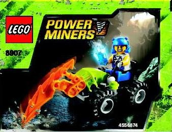 LEGO Power Miners Set #8907 Rock Hacker (Lego Power Miner Sets)