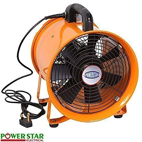 Portable Ventilator Industrial Air Axial Metal Blower Workshop Extractor Fan (8
