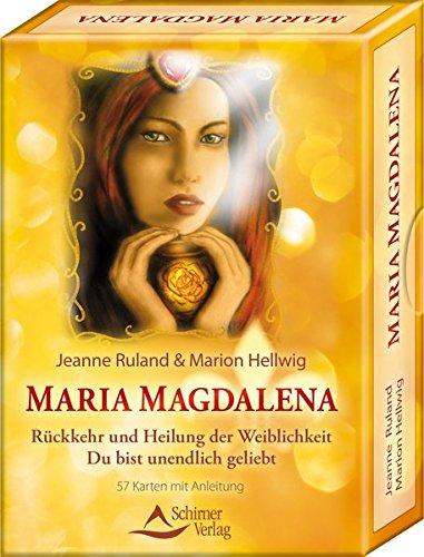 Maria Magdalena - Rückkehr und Heilung der Weiblichkeit: Du bist unendlich geliebt - 57 Karten und Anleitung (Jean Yves Leloup)