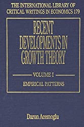 Recent Developments in Growth Theory