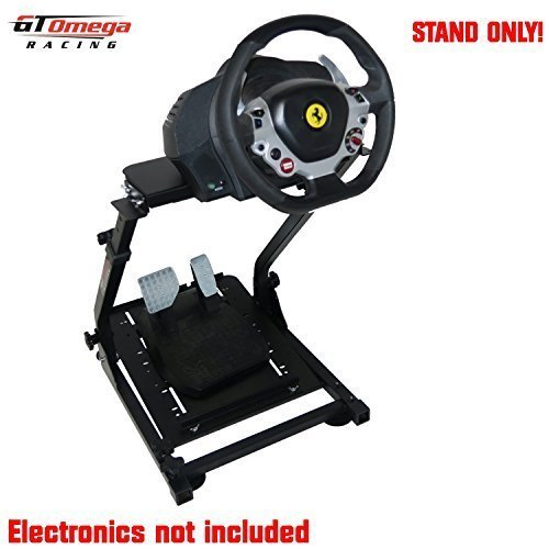 GT Omega Steering Wheel Stand Suitable for the Thrustmaster TX Racing Wheel Ferrari 458 Italia PC/Xbox One [Import Englische]