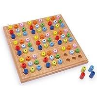 Brettspiel-SUDOKU-Spiel-Holzspiel-Holzbrettspiel-Holz-Sudoku-Holz-NEU-2489-OVP Brettspiel SUDOKU Spiel Holzspiel Holzbrettspiel Holz-Sudoku Holz NEU 2489 OVP -
