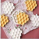 Angoter 1PCS a Nido d'Ape Torte stampi in Silicone Muffa della Torta del Fondente di Cioccolato Soap Candy Biscotto Zucchero Stampo di Cottura Accessori Cucina