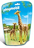 Playmobil 6640 City Life Giraffe With Calf(Multi Color)