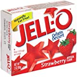 Jell-o Strawberry 85 g