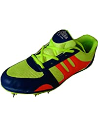 Aryans presents best performance multicolour Running spikes shoes for men