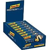 PowerBar Proteinplus 30% High in Protein Torta Arancia Cake 15X55G - Una Deliziosa Gratificazione con Proteine Dopo l'Allenamento - 820 g