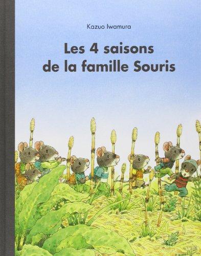 4 saisons de la famille Souris