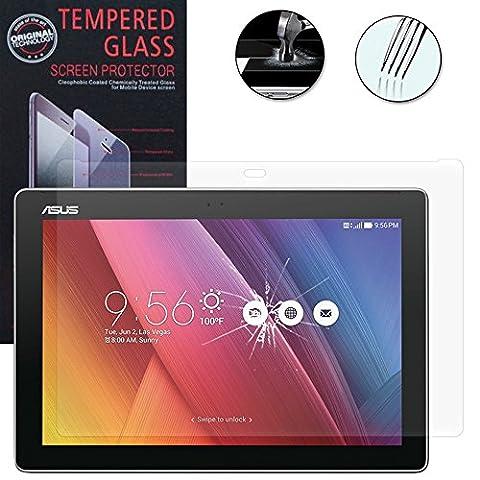 VCOMP® 1 Film Vitre Verre Trempé de protection d'écran pour Asus ZenPad 10 Z300C 10.1