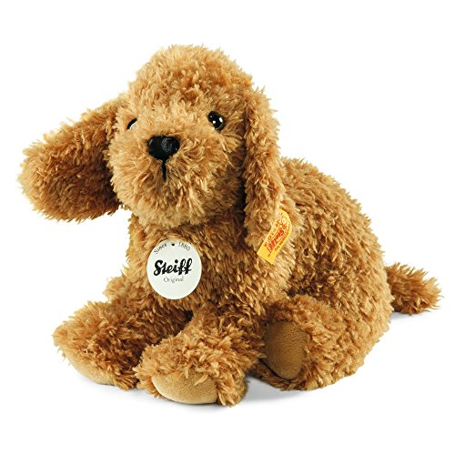 Steiff-Little-Bonny-Puppy-Plush-Toy-Golden-Brown