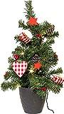 LED Tannenbaum, Beleuchtung, Batteriebetrieb Weihnachtsbaum Weihnachtsbeleuchtung