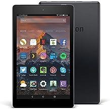 """Tablet Fire HD 8, schermo HD da 8"""", 32 GB, (Nero) - con offerte speciali (7ª generazione - modello 2017)"""