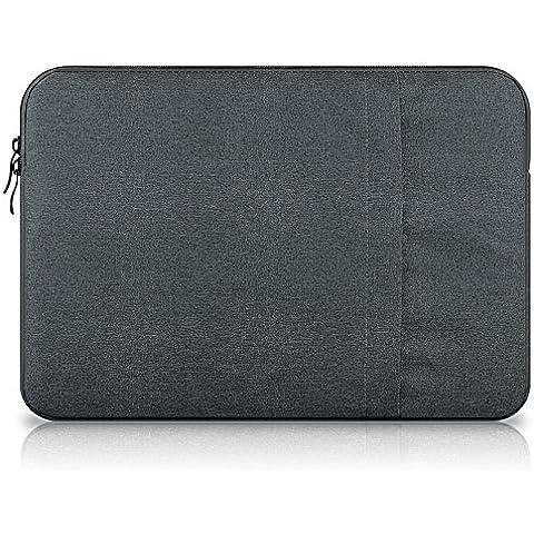Funda Bolso para MacBook, annoda sponge-rubber Funda protectora de transporte maletín para MacBook Air de 11,6
