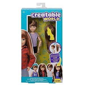 Creatable World pack de personajes, juguete para niños y niñas +6 años (Mattel GKV40)